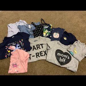 Girl Toddler Shirt Bundle Size 3T